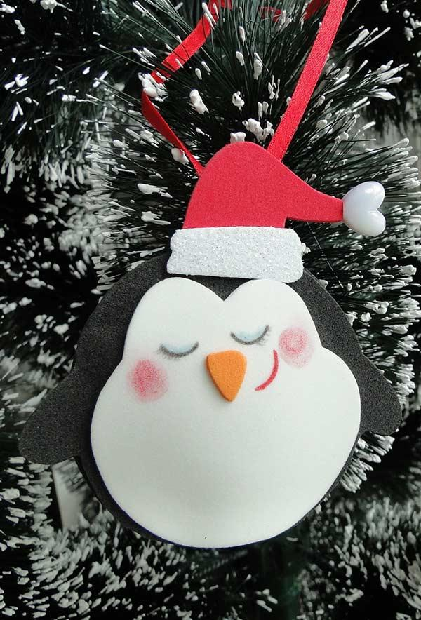 EVA Christmas Ornaments: 60 Ideas and How to Make It Step by Step 19