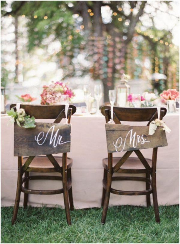 Rustic wedding: 80 decorating ideas, photos and DIY 69