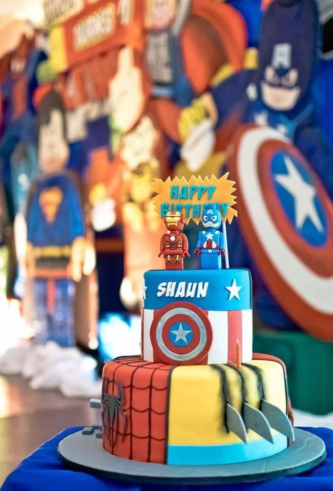 Lego Decoration Avengers