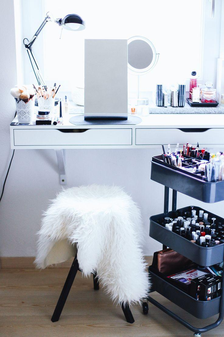 Makeup table: 60 ideas to decorate and organize 15