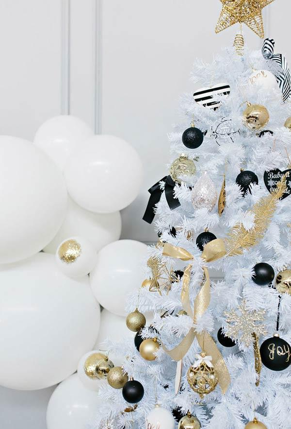 White Christmas tree: 65 amazing and original ideas to decorate