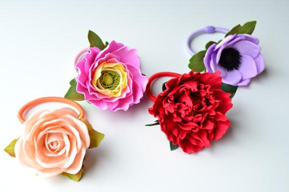 Flowers of EVA: 70 ideas, molds and step by step 36