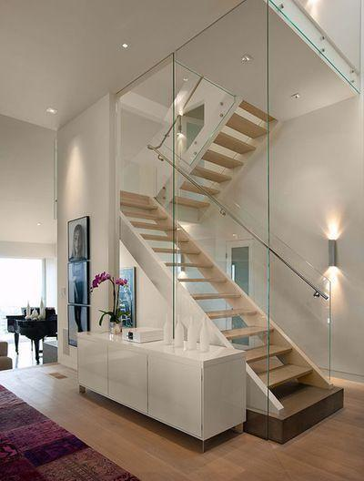 Stainless steel handrail: see tips and 60 models with photos 17