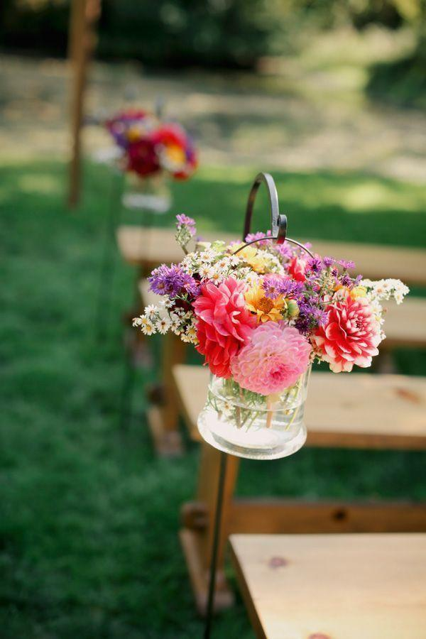 Wedding arrangements: 70 ideas for table, flowers and decoration 62