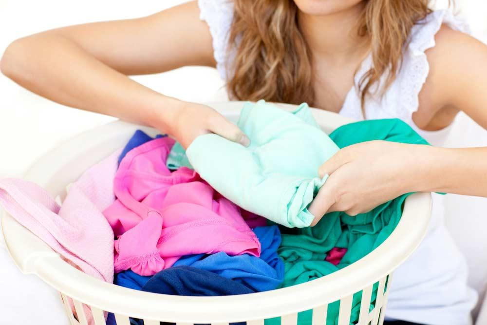 Preparation of clothes before washing