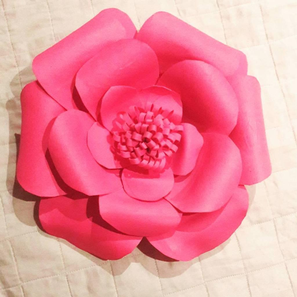 EVA Flowers: 70 ideas, templates and step by step 13
