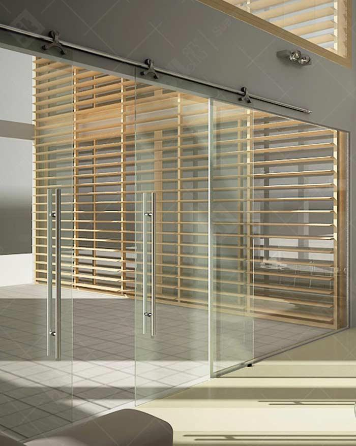 Glass door: 60 ideas and projects to inspire 4
