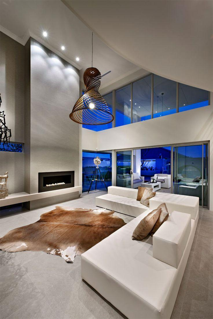 Leather sofa: 70 incredible models to decorate environments 30