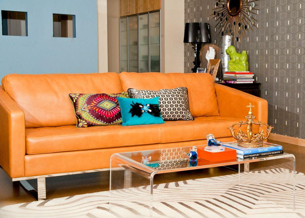 Leather sofa: 70 amazing models to decorate environments 64