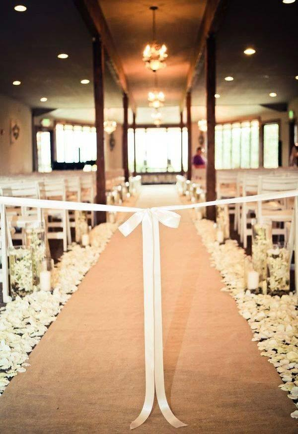 Church Decorating for Marriage: 60 Creative Ideas to Be Inspired 13