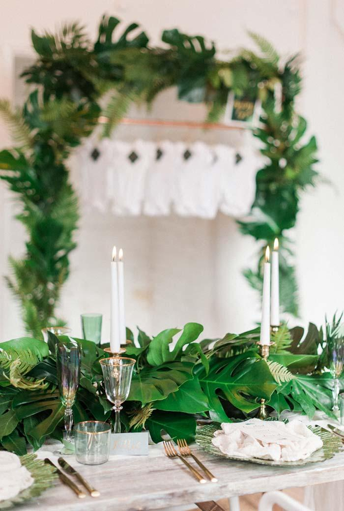 Simple Nature-inspired Baby Shower Decoration