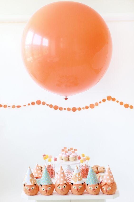 Decoration with balloons: 85 inspirations to decorate 19