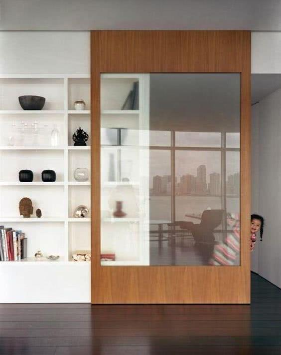 Sliding door: advantages of using and projects with photos 26