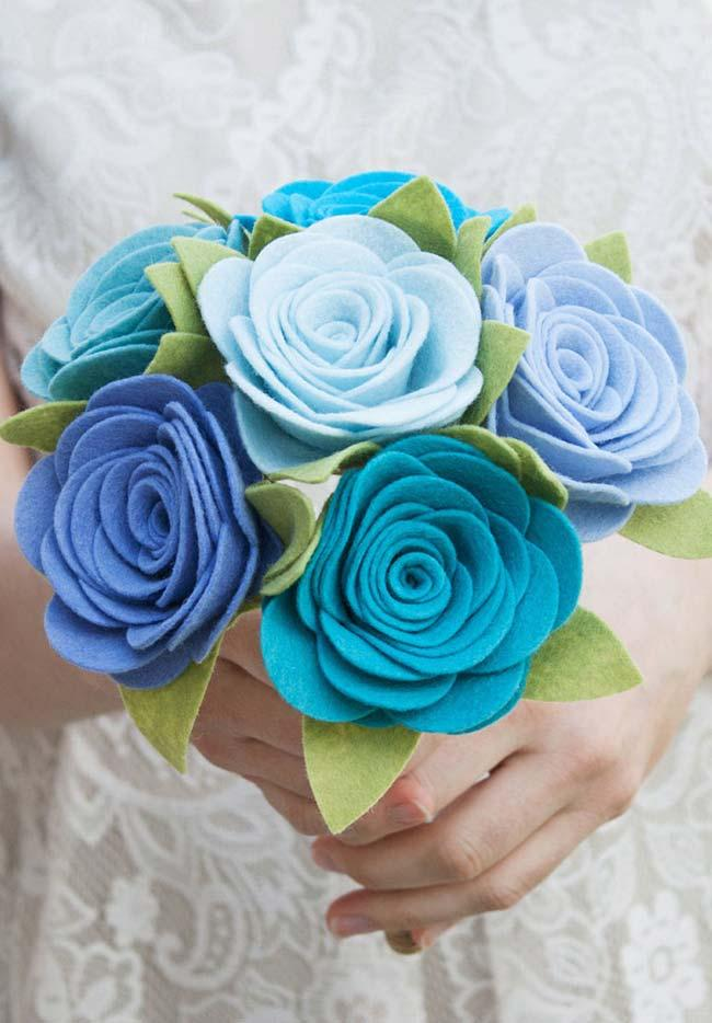 Bridal bouquet with flowers in do it yourself wedding decoration