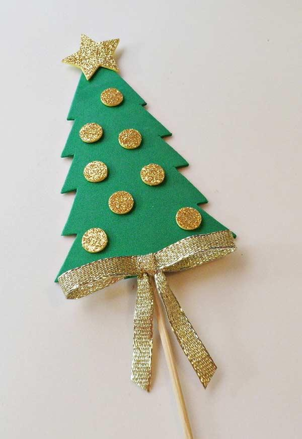 EVA Christmas Ornaments: 60 Ideas and How to Make Step-by-Step 7