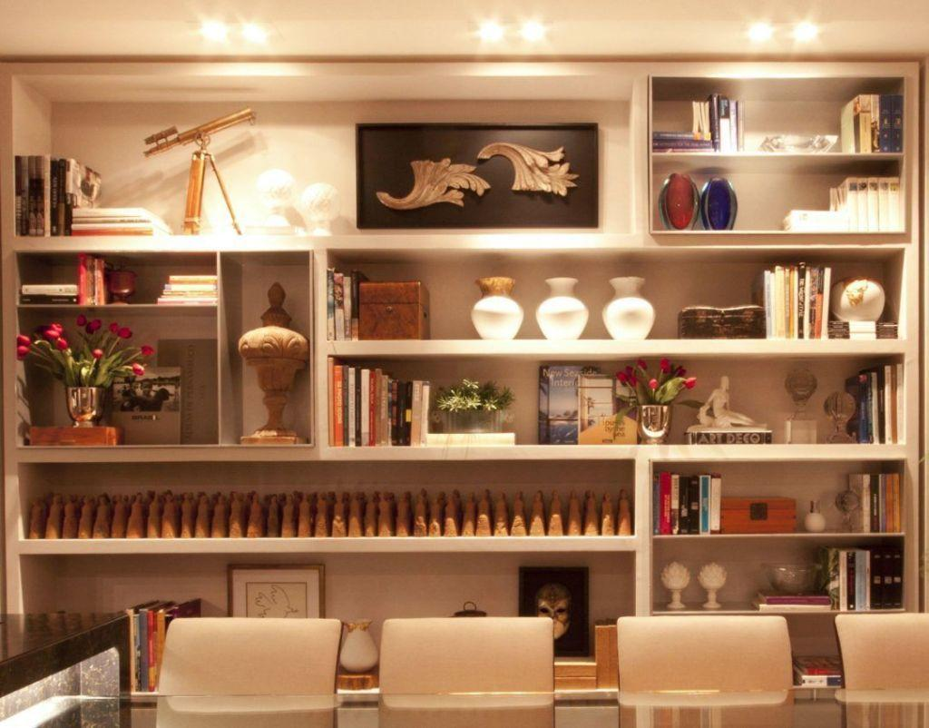 Plaster shelf: advantages and 60 projects to inspire 21