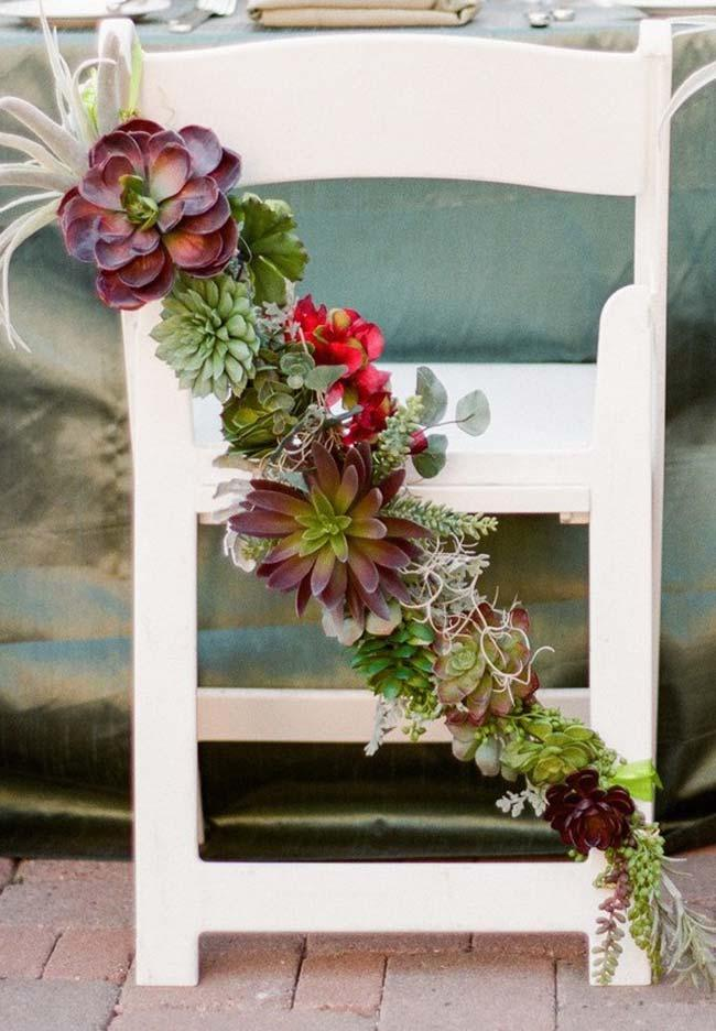 Suggestion for decoration and weddings with succulents
