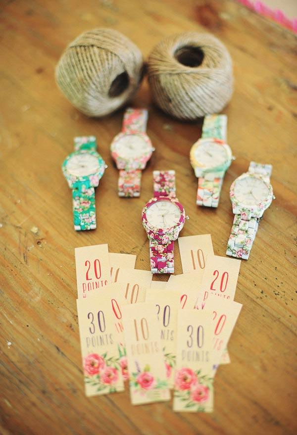 Watches and accessories in floral themes