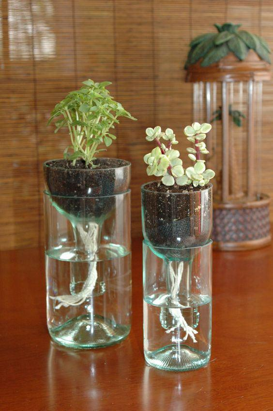 Craft with Glass Bottle: 80 Amazing Tips and Photos 10