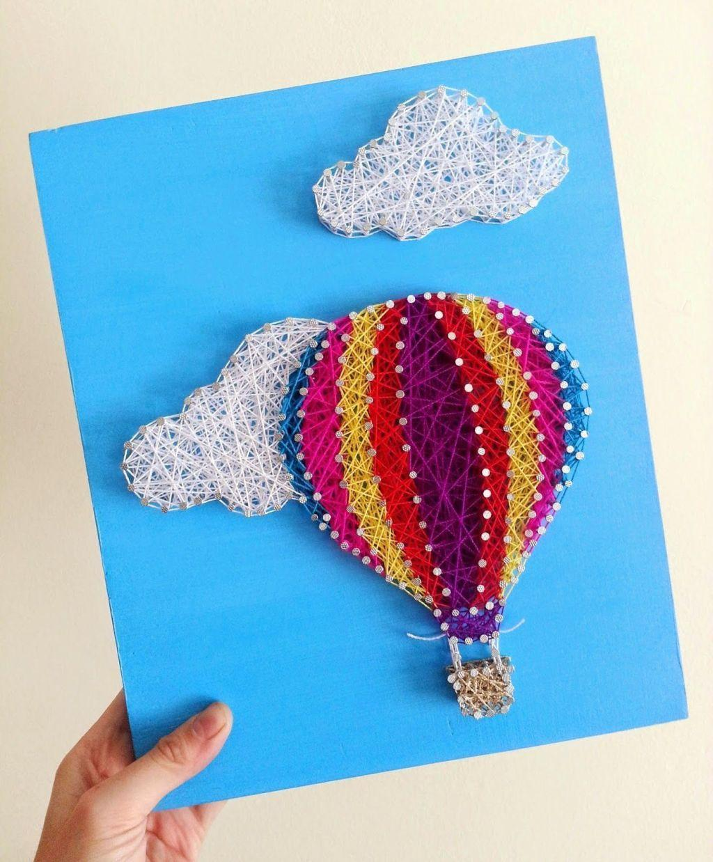 How to make handmade pictures: templates, photos and step-by-step 24
