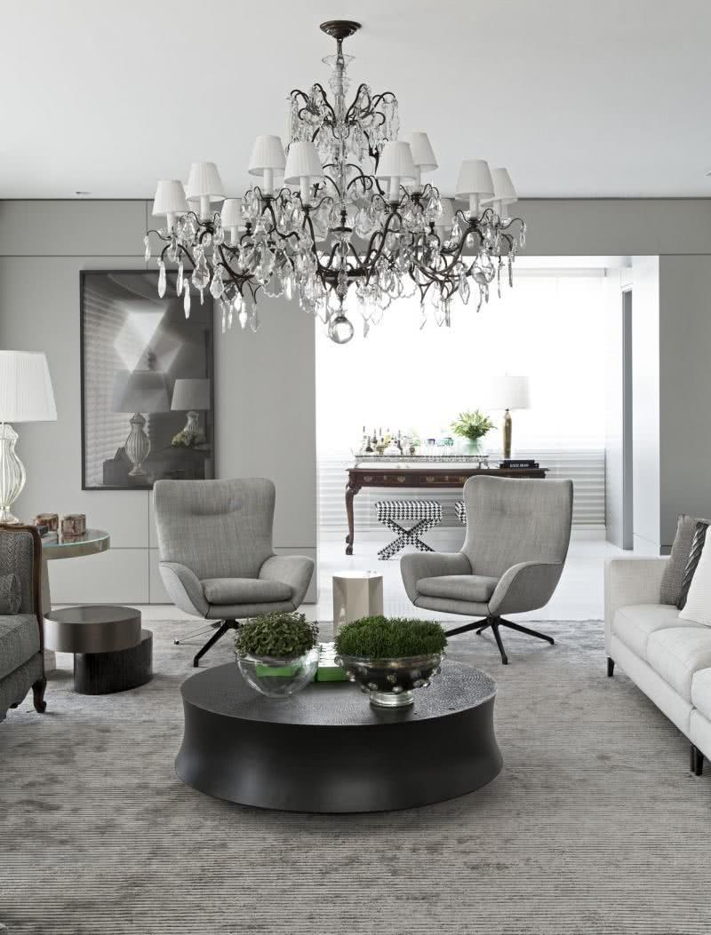 Chandelier models: 60 ideas to hit the light 27