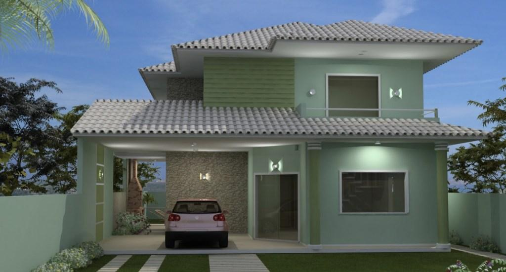 Colors of houses: trends and photos for exterior painting 6