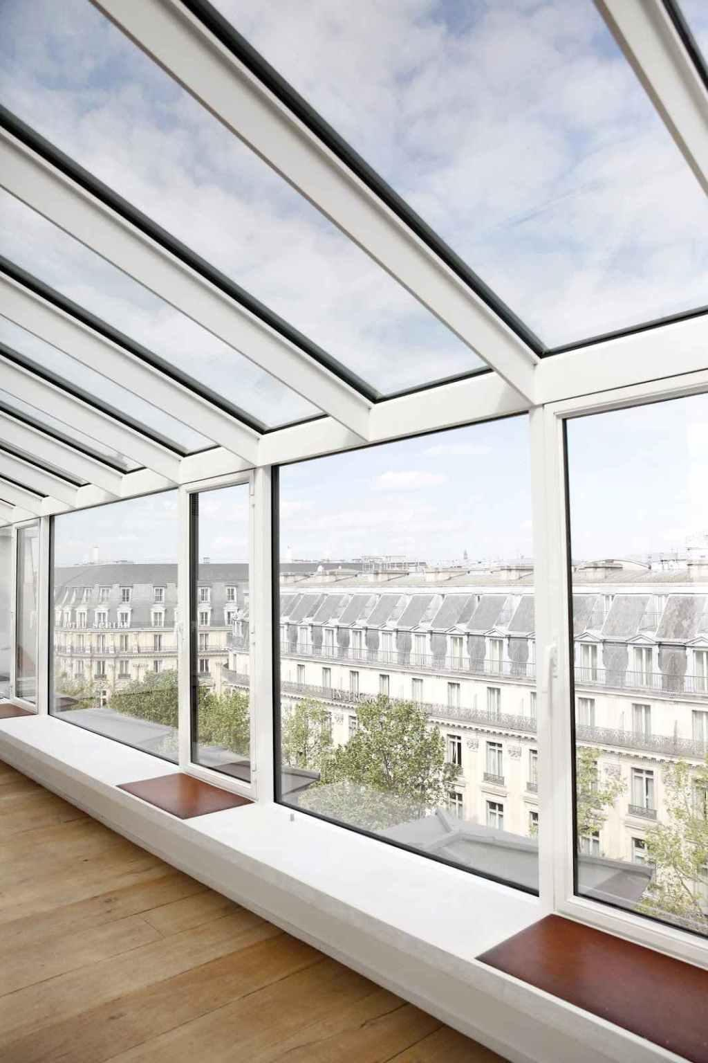 Glass roof: advantages, 60 photos and ideas to be inspired 46