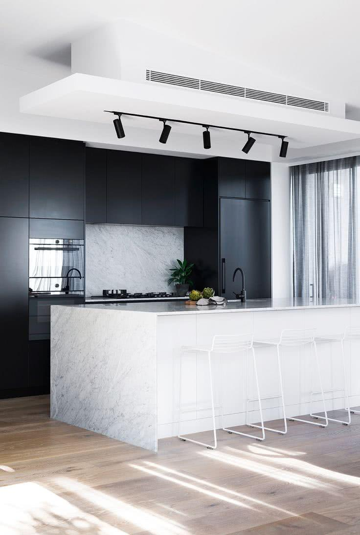 Black and white decoration: 60 ideas to inspire yourself 12
