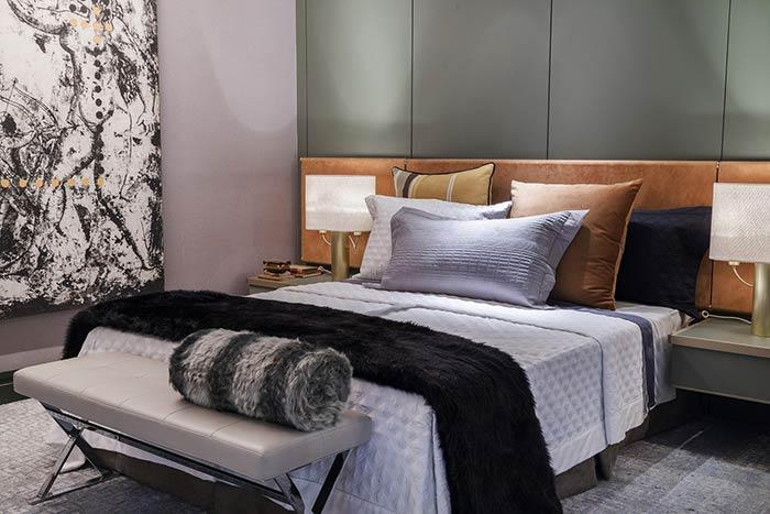 The contrast of colors that brings personality to the room