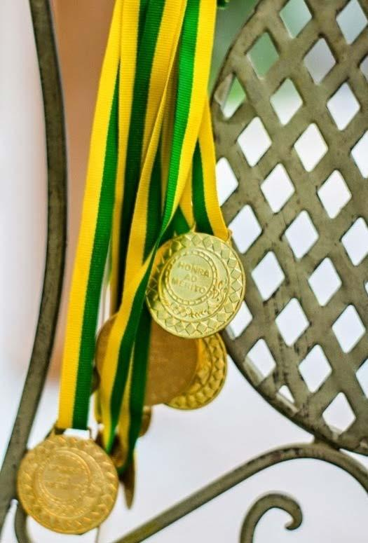 Medals for the world cup decoration