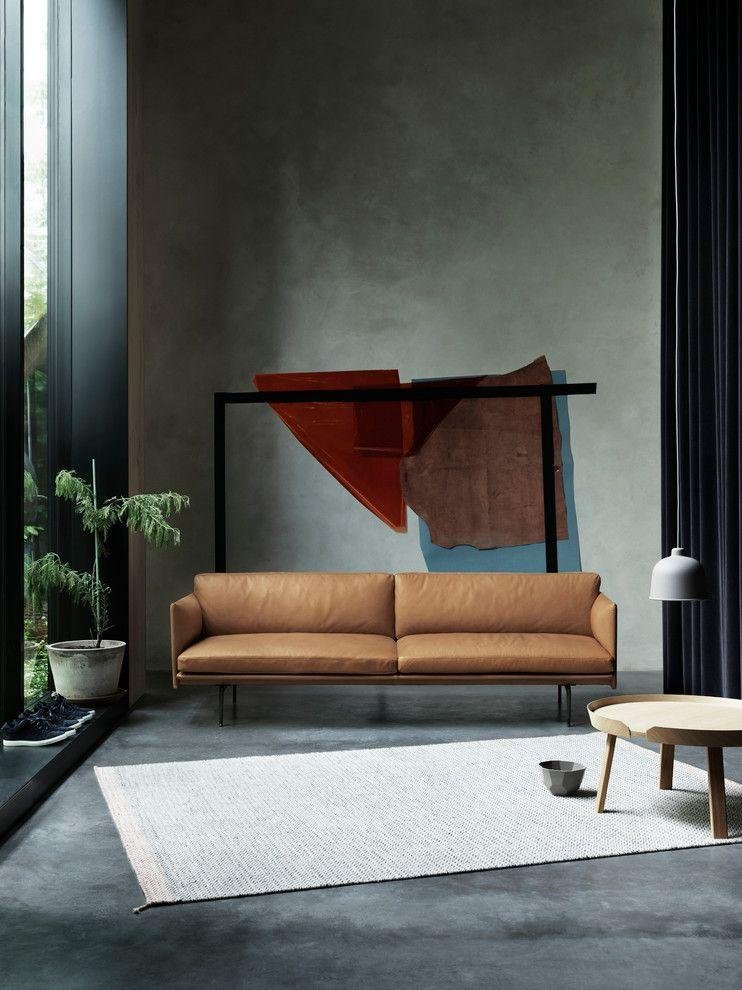 Leather sofa: 70 amazing models to decorate environments 61