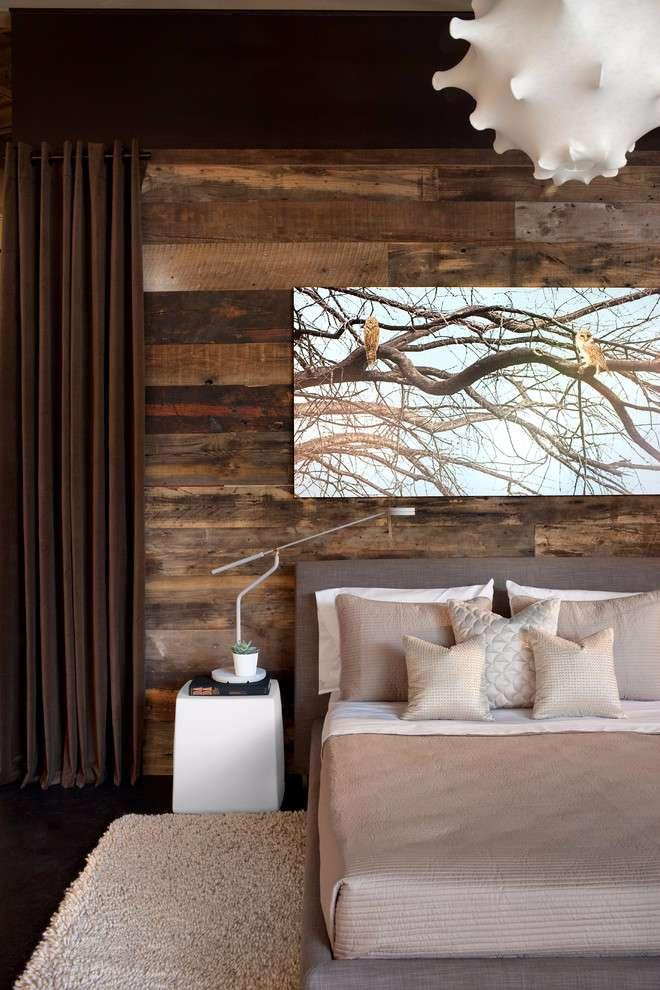 Wooden Wall: 56 Wonderful Ideas and How to Make 31