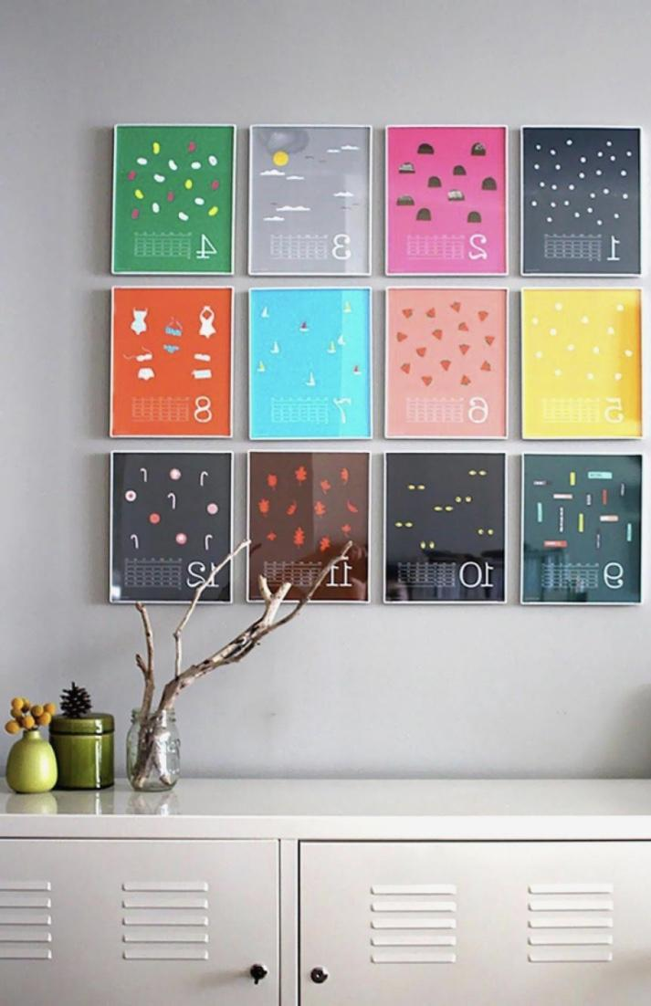 Creative idea: personalized calendars