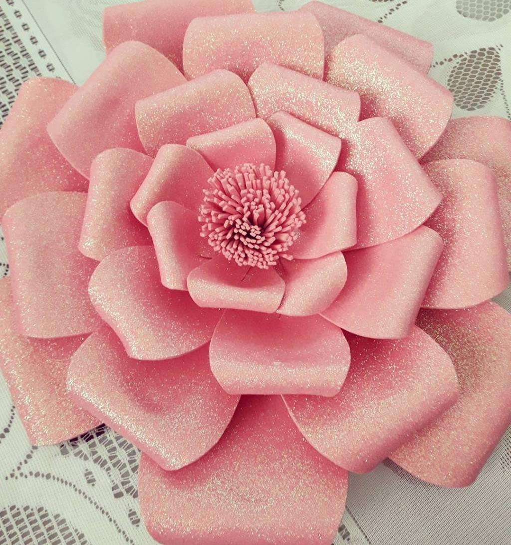 Flowers of EVA: 70 ideas, molds and step by step 4
