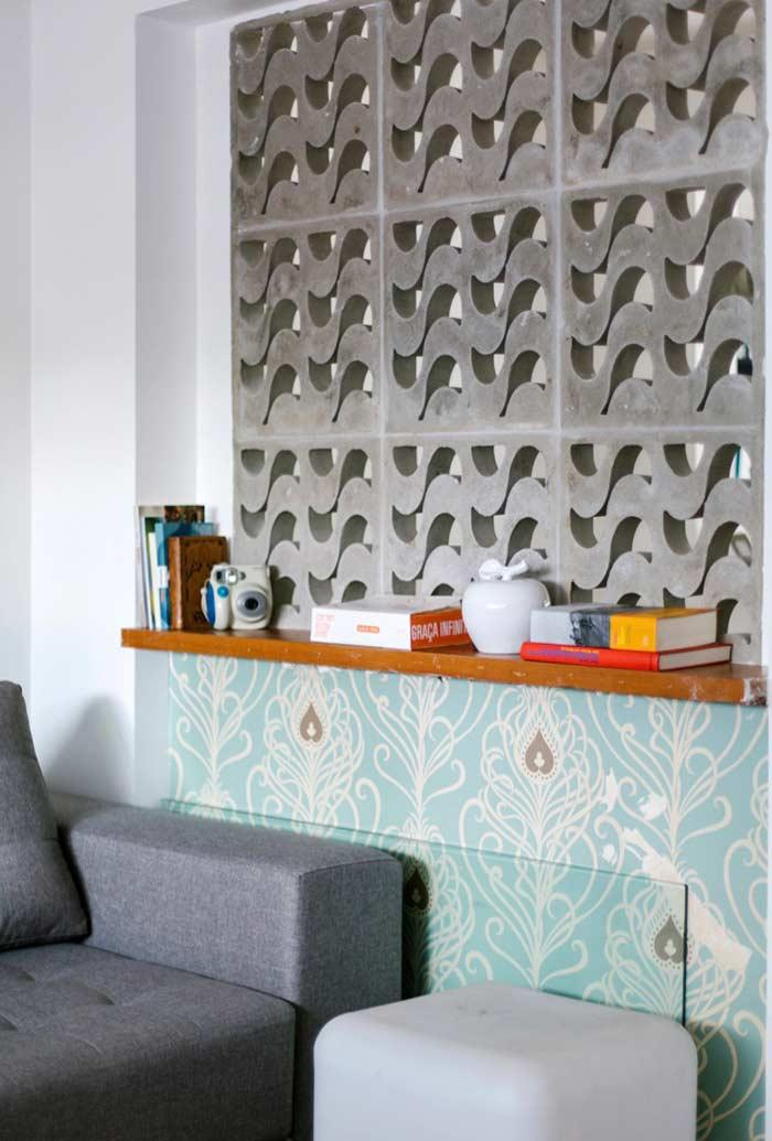 Cobogos: 60 ideas to insert leaked elements in the decoration 16