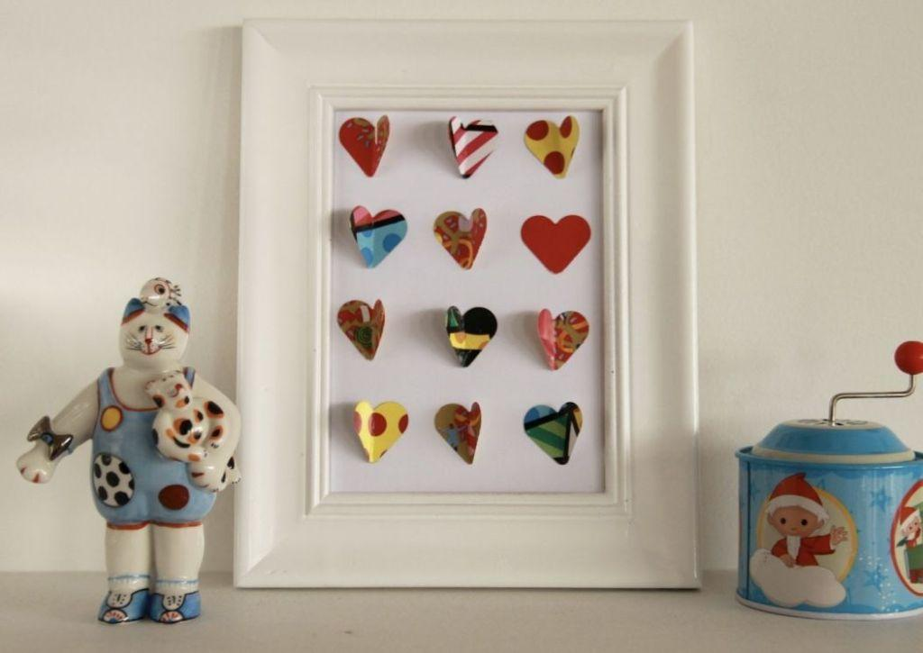 How to make handmade pictures: templates, photos and step-by-step 58