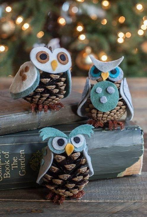 Pine Owl to do it yourself at home