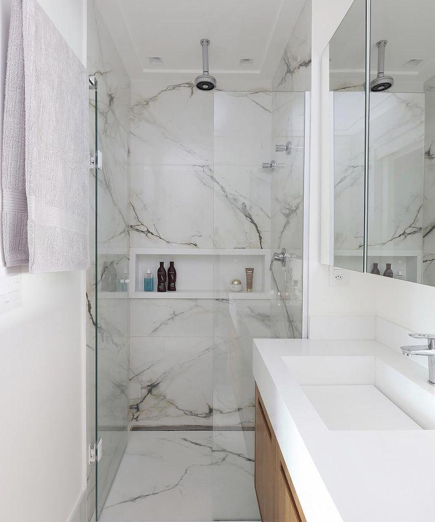 Bathroom coatings: types, models and photos 20