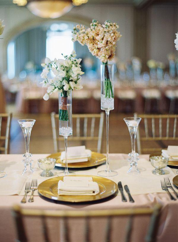 Arrangements for wedding: 70 ideas for table, flowers and decoration 46