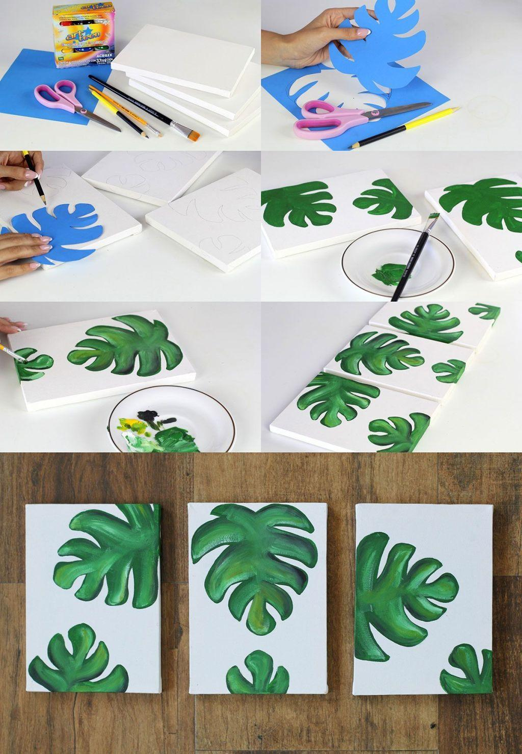 How to make handmade pictures: templates, photos and step-by-step 60
