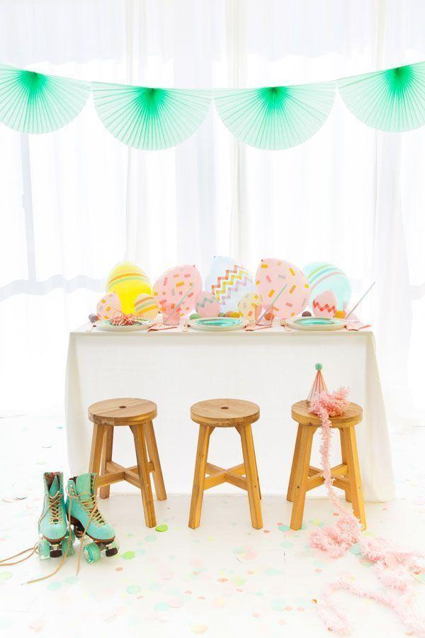 Decoration with balloons: 85 inspirations to decorate 22