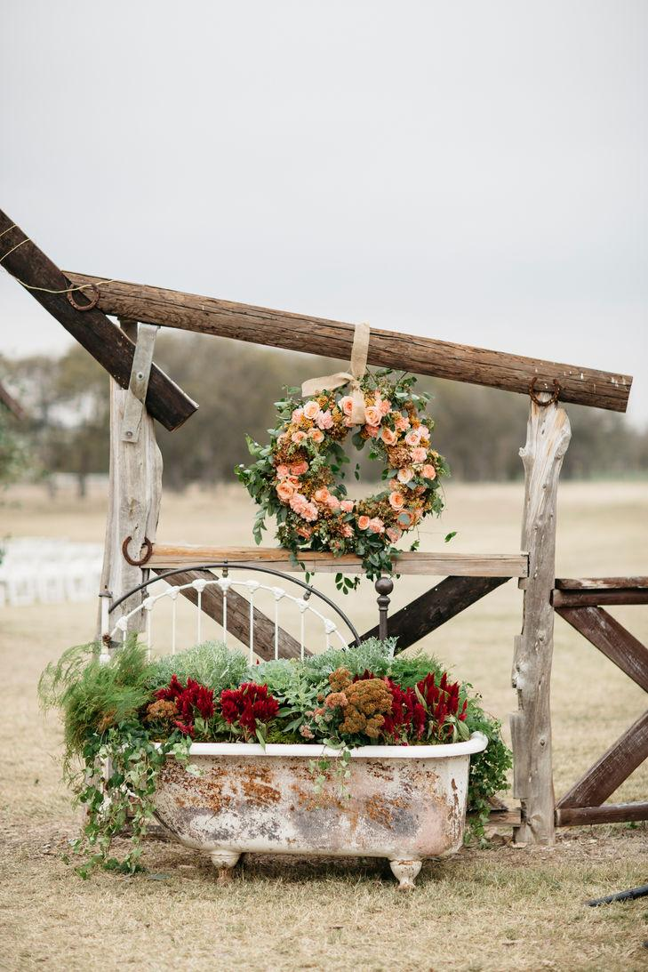 Rustic wedding: 80 decorating ideas, photos and DIY 4