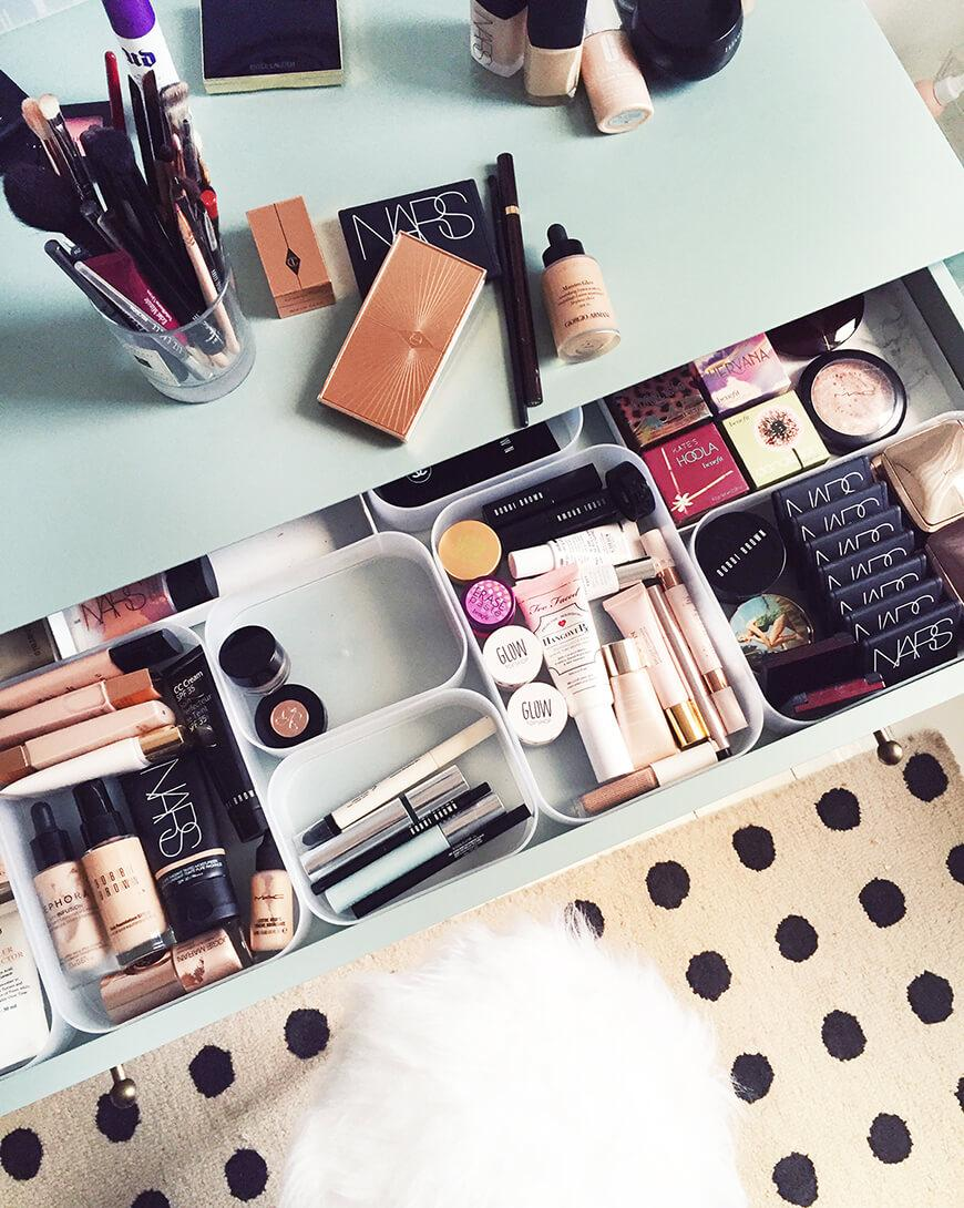Makeup table: 60 ideas to decorate and organize 59