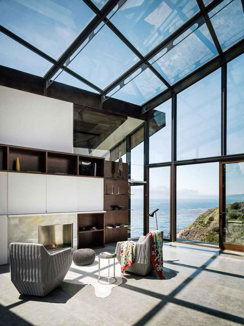 Glass roof: advantages, 60 photos and ideas to be inspired 44