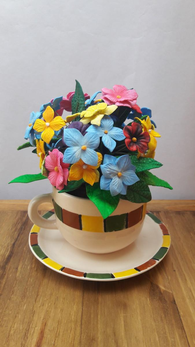 EVA Flowers: 70 ideas, templates and step by step 59