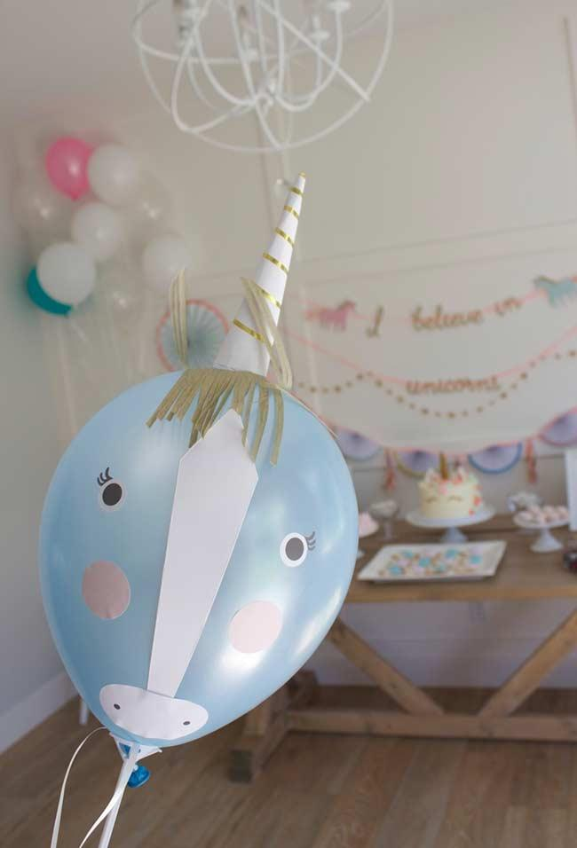 Balloons for party unicorn