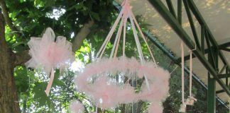 Ballerina kids party decoration