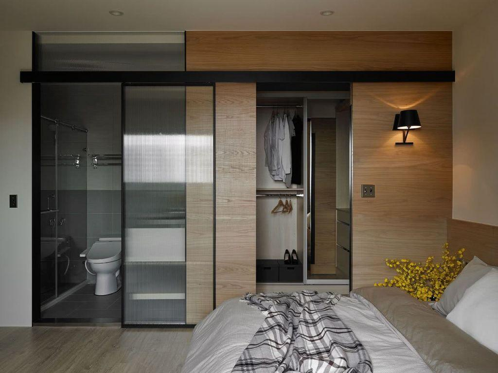 Sliding door: advantages of using and projects with photos 34