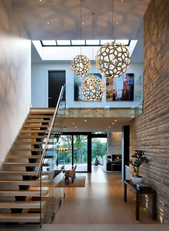 Stainless steel handrail: see tips and 60 models with photos 12