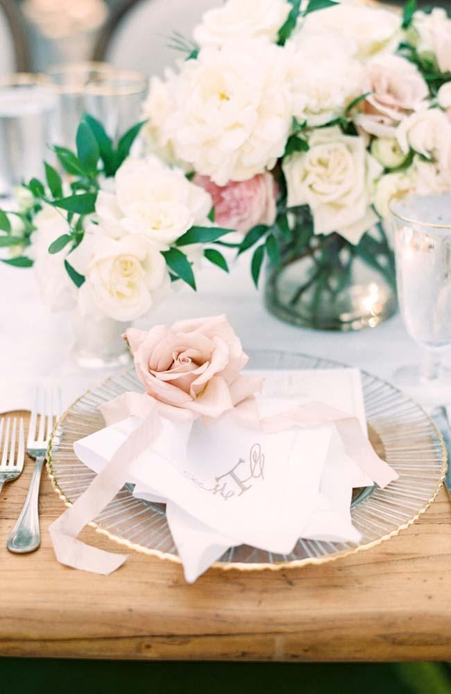 A wedding is made of details, one of them is the napkin
